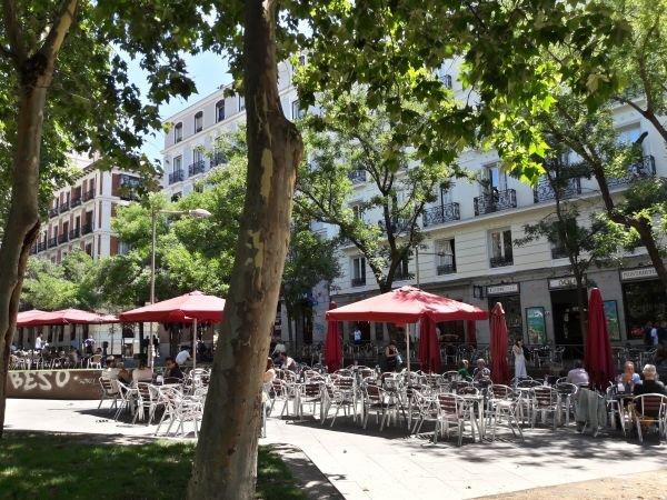 Plaza Santa Bárbara Madrid