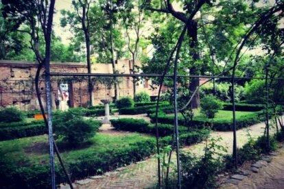 Principe de Anglona Palace Gardens Madrid