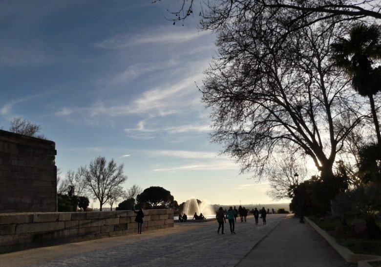 Templo de Debod & West Park Madrid