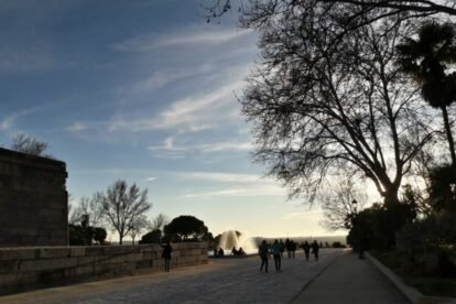 Templo de Debod & West Park Madrid