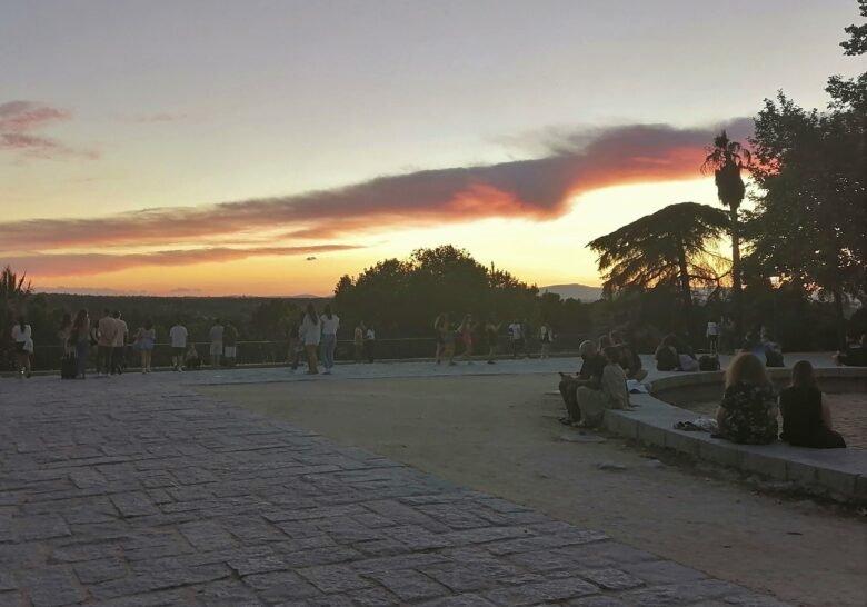 West Park & Templo de Debod  Madrid
