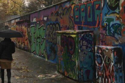 Graffiti in Folkets Park Malmo