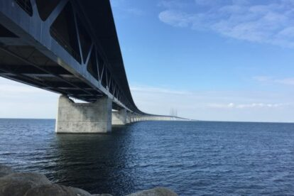 The Oresund Bridge Malmo