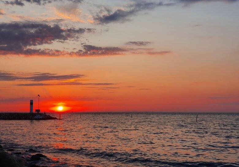 Sunsets Over Öresund Malmö