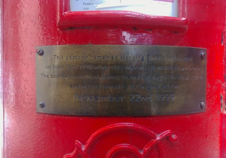 Corporation St. Post Box – Undamaged by the bomb