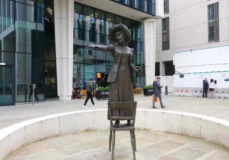 Emmeline Pankhurst Statue Manchester