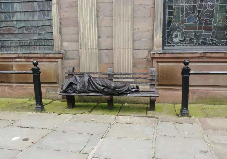 Homeless Jesus Manchester