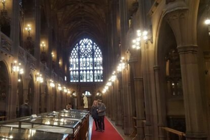 John Rylands Library – A real-life Hogwarts