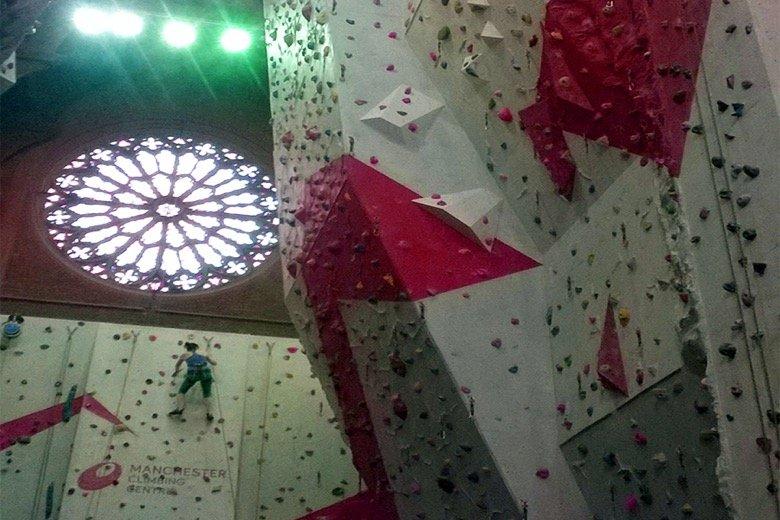 Manchester Climbing Centre Manchester