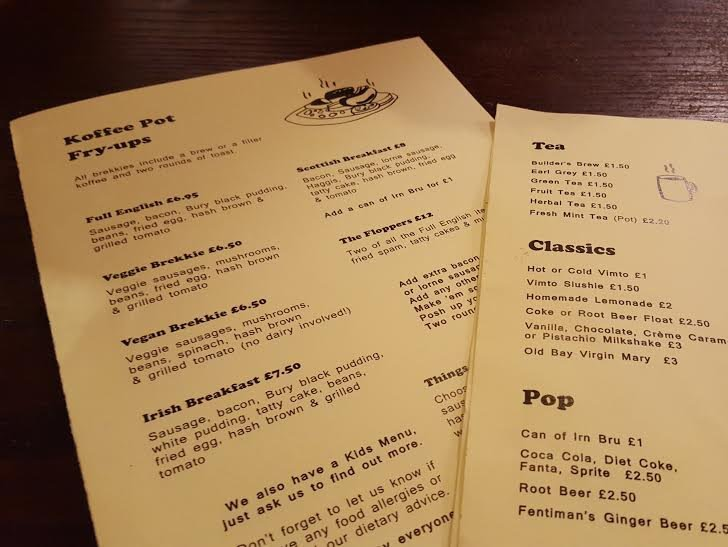 The Koffee Pot – What hangover?