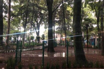 Canine Park at Alfonso E. Park Mexico City