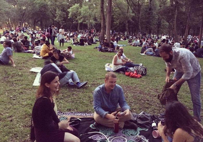 Botanic Garden's Night Picnic Mexico City