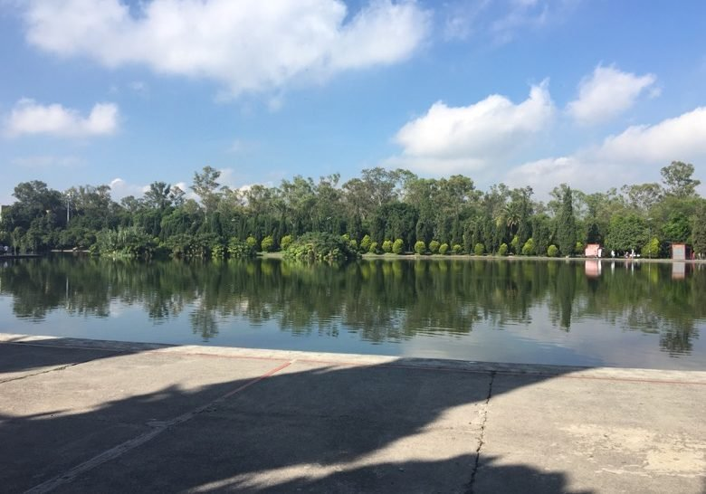 Lago de Chapultepec Mexico City