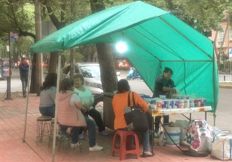 Quesadilla Stand Mexico City