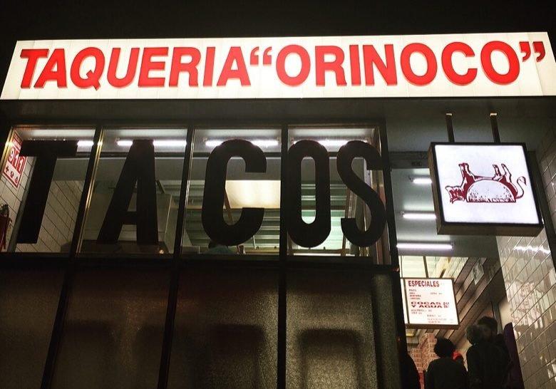 Taquería Orinoco Mexico City