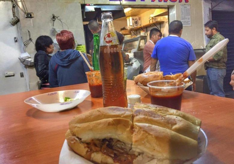 Tortas El Paisa Mexico City