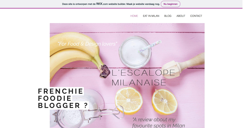 L'Escalope Milanaise Milan Blog