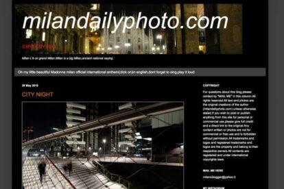 Milan Daily Photo Blog