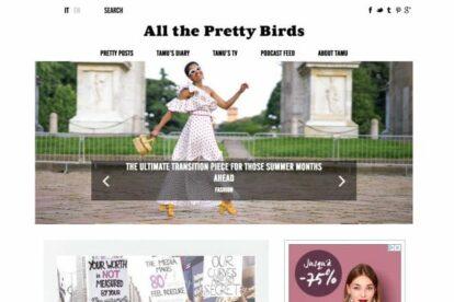All The Pretty Birds blog Milan
