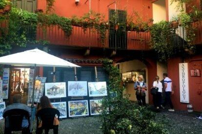 Alzaia Naviglio Grande 4 – Milan's loveliest yards?