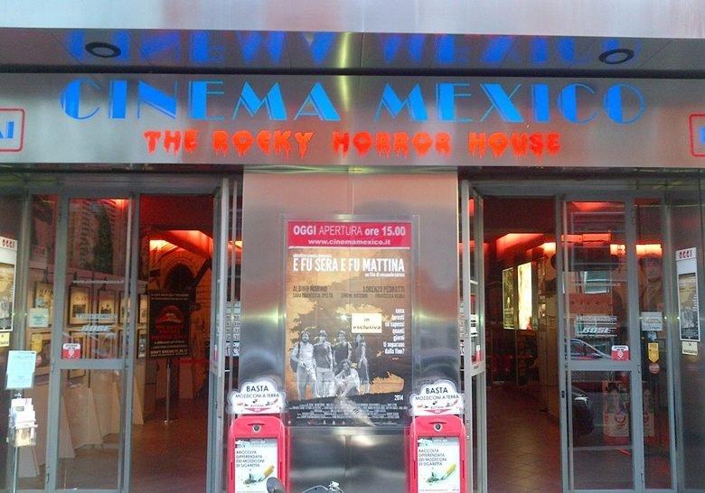 Cinema Mexico Rocky Horror House Milan