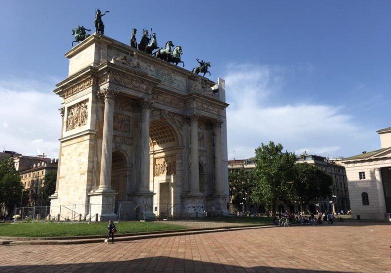 Piazza Sempione Milan