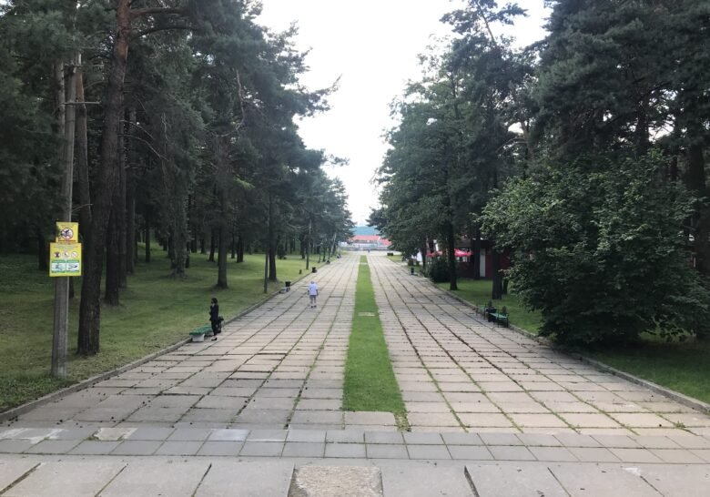 50 Years of Great October Park Minsk