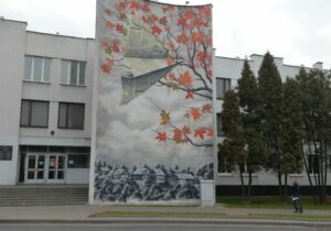 Graffiti on Aerodromnaya – Two different works