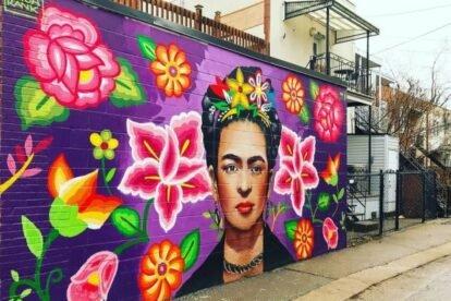 Frida Kahlo Mural Montreal