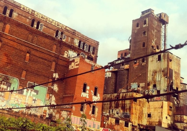 Abandoned Malting Factory Montreal