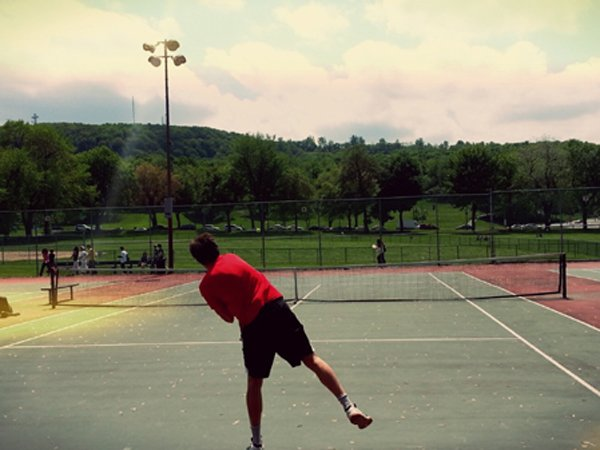 Tennis Jeanne-Mance Montreal