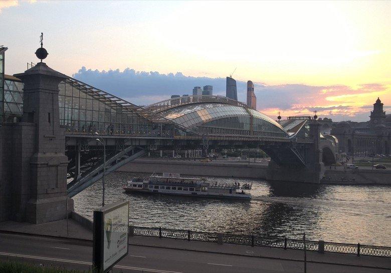 Bogdan Khmelnitsky Foot-bridge Moscow