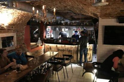 Craftland Cultural Bar Moscow