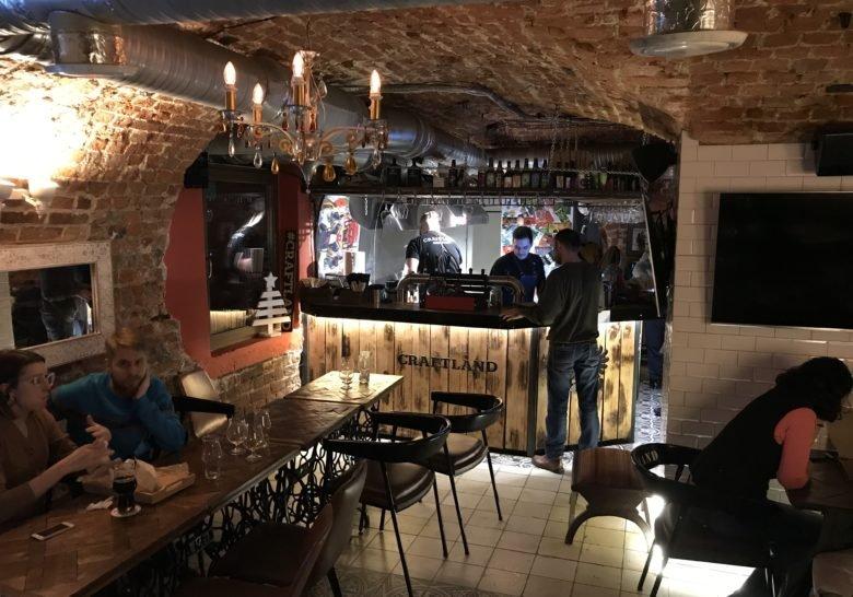 Craftland Cultural Bar – A cozy bar underground