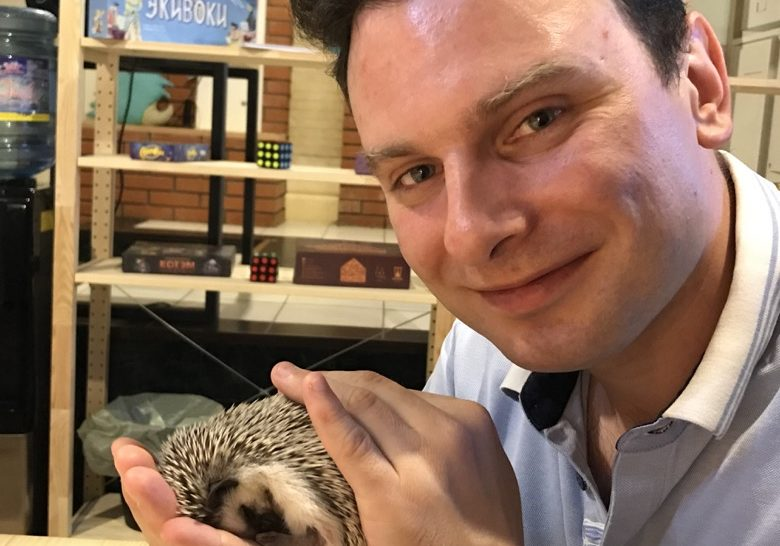 Ejeminutka – Cafe with hedgehogs