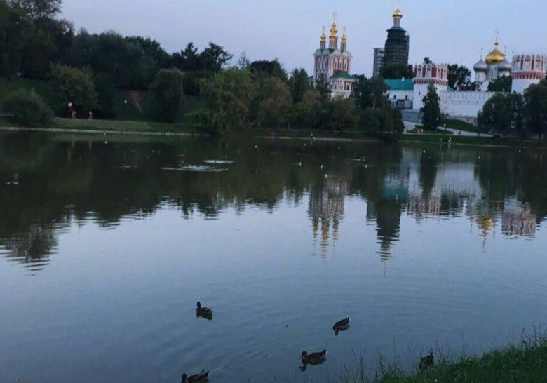 Novodevichy Ponds Park Moscow