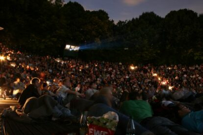 Kino, Mond & Sterne – Outdoor cinema at Westpark