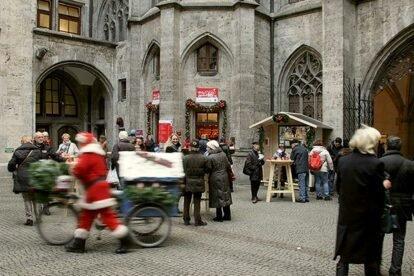 Town Hall Gluhwein Munich
