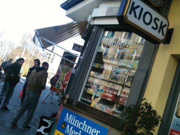 Reichenbach Kiosk Munich