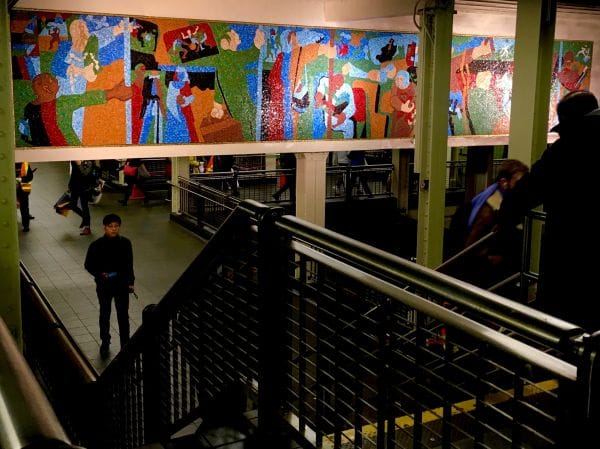 New York in Transit—Jacob Lawrence New York