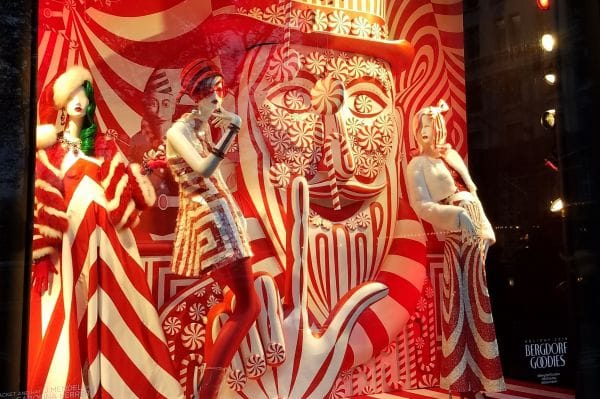 Bergdorf Goodman Holiday Windows New York