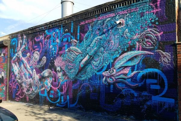 Welling Court Mural Project New York