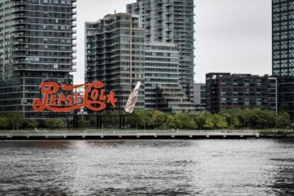Pepsi-Cola Sign New York