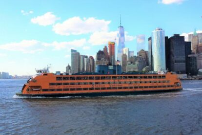 Staten Island Ferry New York Spotted