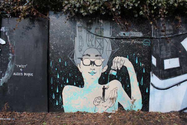 First Street Garden – Street art in the city