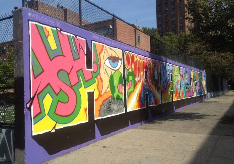 Graffiti Wall of Fame New York