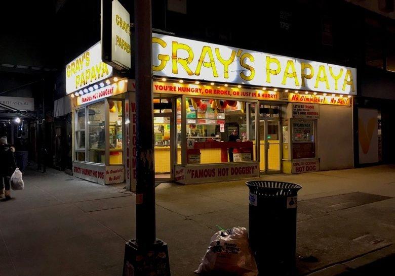 Gray's Papaya New York