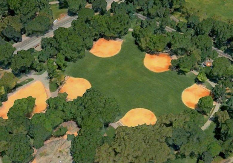 Heckscher Field/Central Park New York