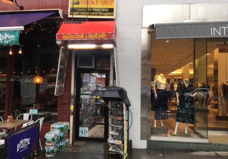 Narrow 6-foot-wide shops New York