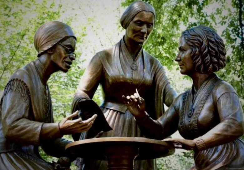 Suffragettes Monument New York